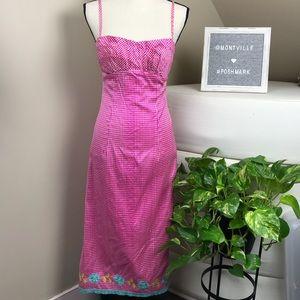 Nanette Lepore Dresses Pink Spaghetti Strap Size 4